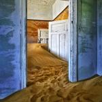 Kolmanskop  ghost town, Namib desert, Namibia.