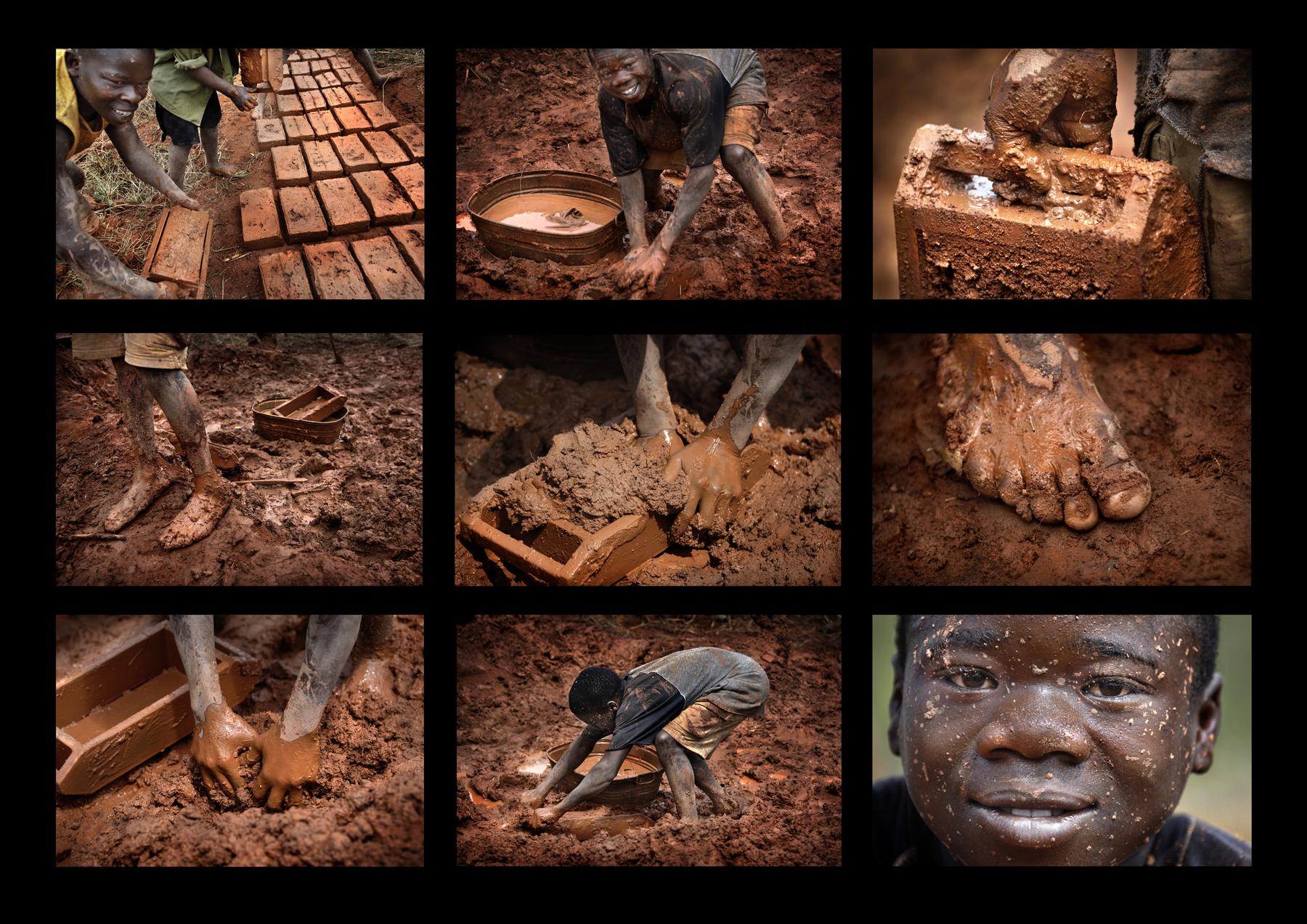 Les briques de terre crue Malawi-©patrick-Galibert-2 Briques