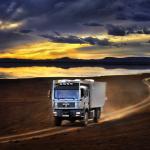 Maroc, Erg Chebb - Camion Man ©Patrick Galibert photographe