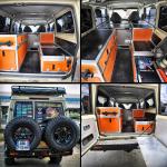 Aménagement intérieur - Toyota HZJ 78