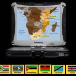 de l'Afrique du Sud au Kenya