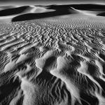 Erg Ubari et ses lacs.Les grandes dunes de sables.Libye