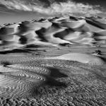 Erg Murzuq immense mer de sable avec des dunes de plus de 200 mètres de hauteur. Libye