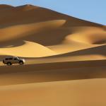 Les dunes en 4x4.Libye