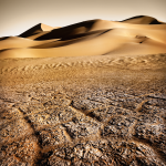 Le désert de Libye.