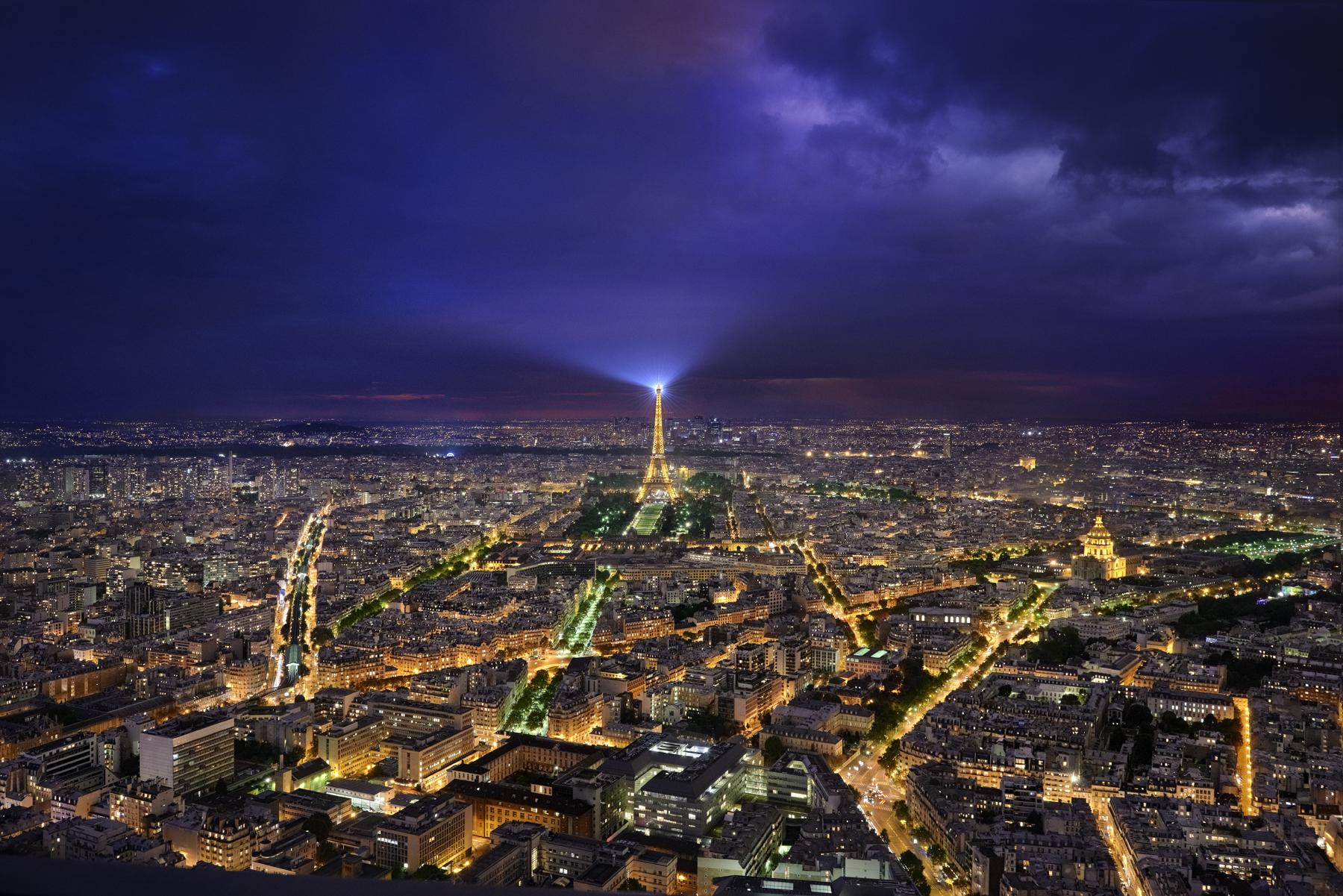 Paysages paris 4 vue du ciel for Paris paysage