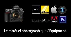 materiel photographique, équipment, équipement photo