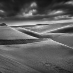 Namib desert. Reportage photographique en Namibie - Namibia pictures, black and white in Africa.  © Patrick Galibert