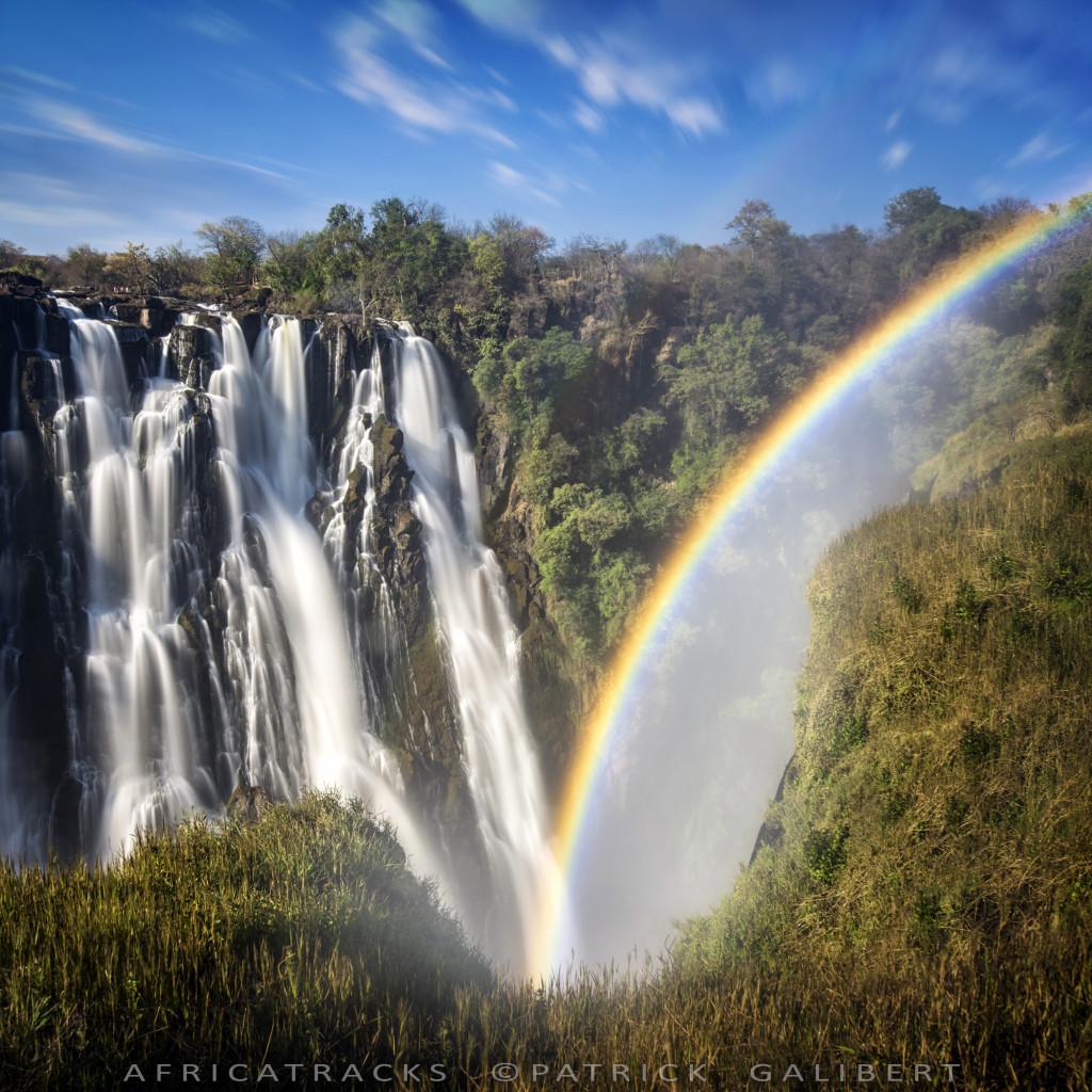 Les chutes Victoria Zambie, Longue exposition.©P.Galibert-0973