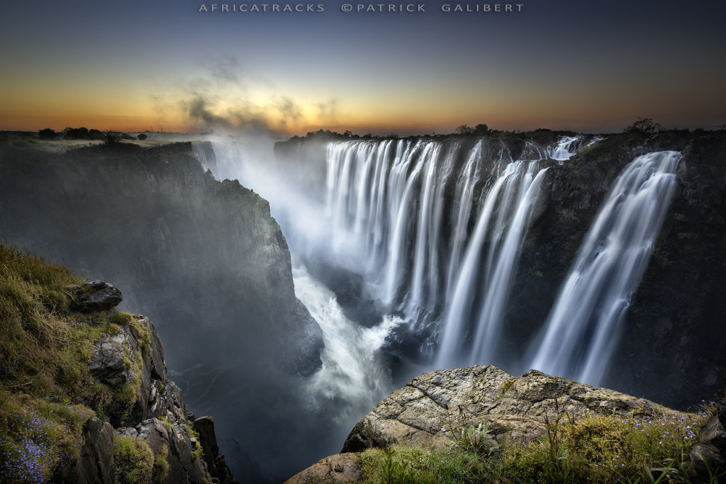Victoria Falls Zambia, Long exposure ©P.Galibert-1023