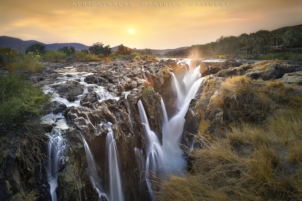 Sunrise,Epupa Falls Namibia