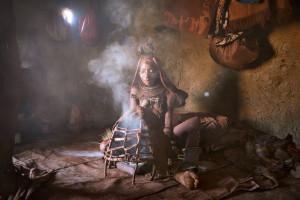 Himba woman beauty ritual Patrick Galibert