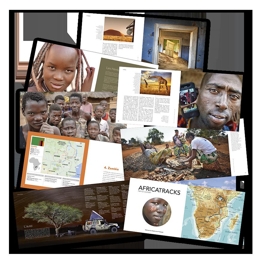 Africatracks, le livre des aventures photographiques de Patrick Galibert en Afrique