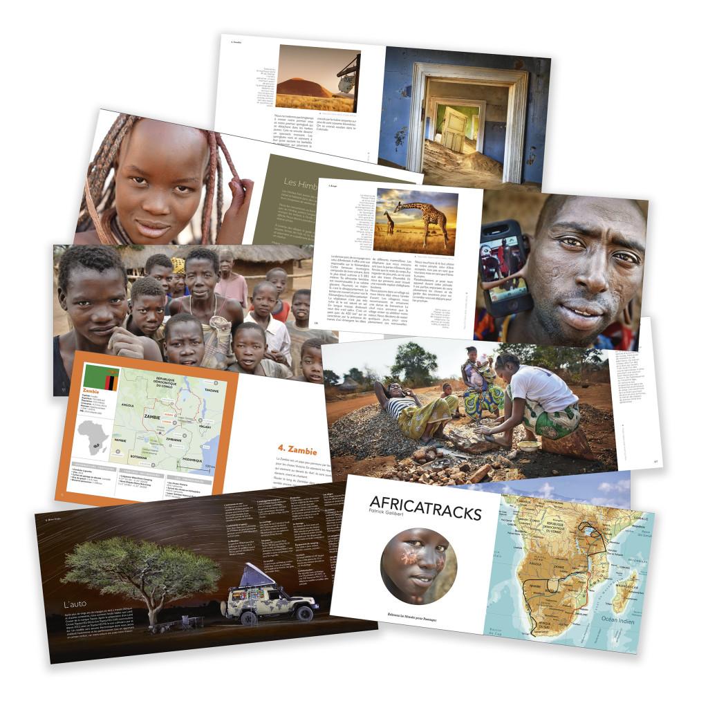 africatracks, le livre Patrick Galibert