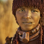 Hamer woman  Tribe portrait, Omo Valley, Ethiopia galibert patrick;Patrick Galibert
